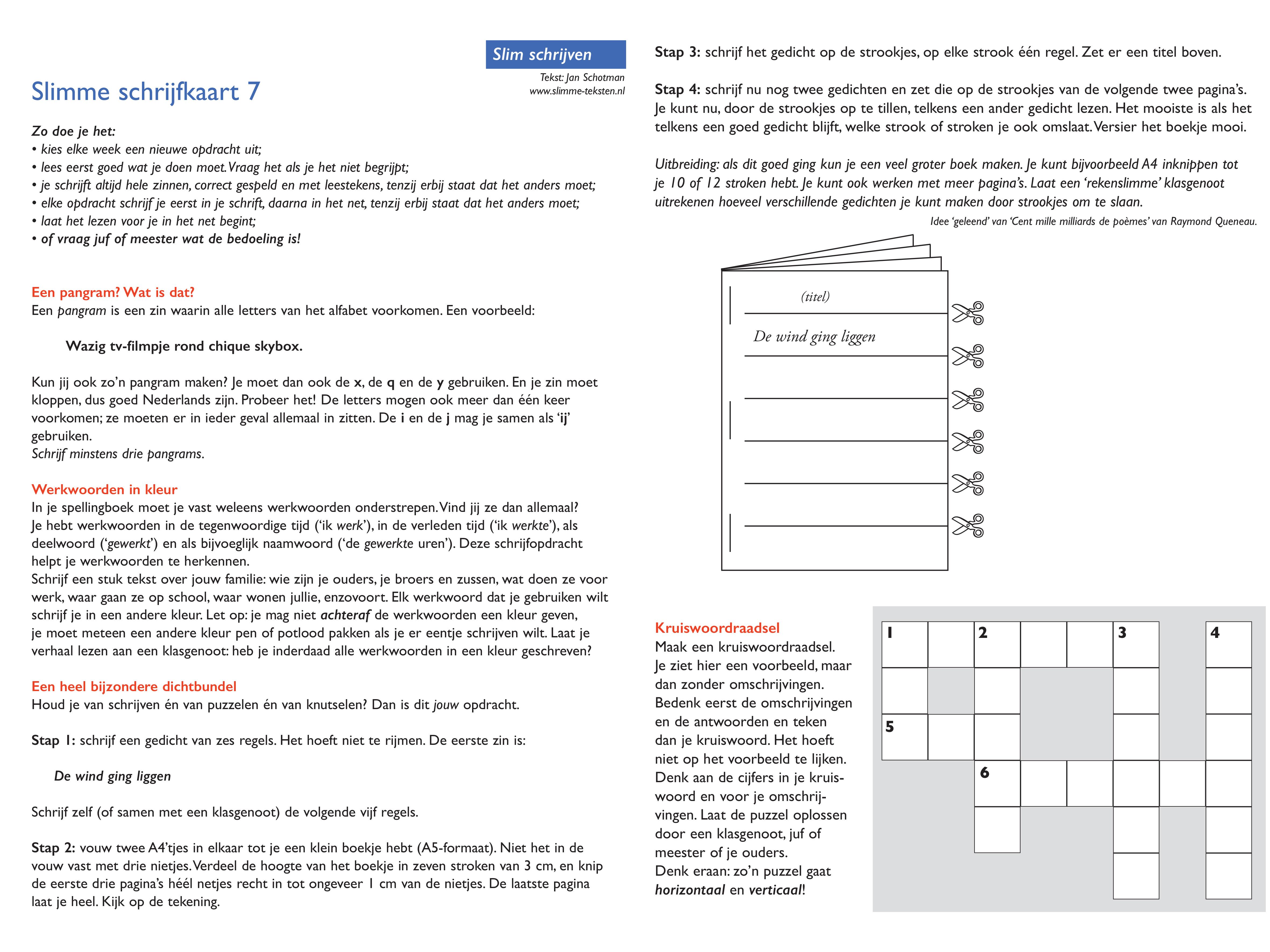 Top Slimme Teksten - Pagina 7 van 15 - Slimme Teksten basisonderwijs &ID43